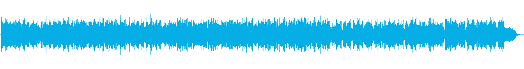 Spectacular sprinting trumpet moving pop rock's reproduced waveform