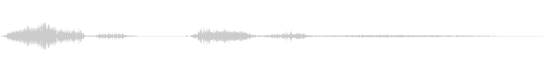 低声の成長その他の人間の声の未再生の波形