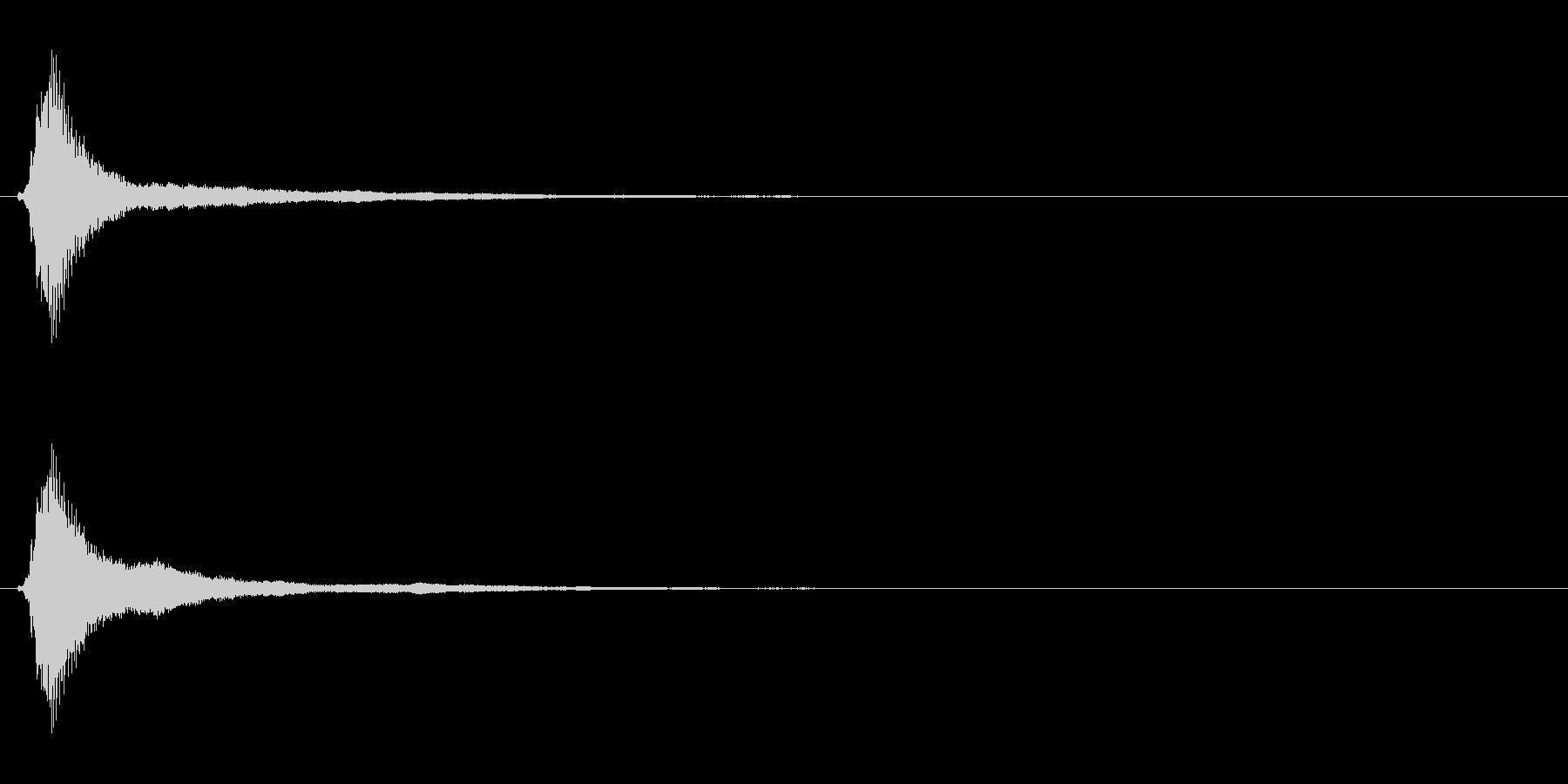 サウンドロゴ(企業ロゴ)_018の未再生の波形