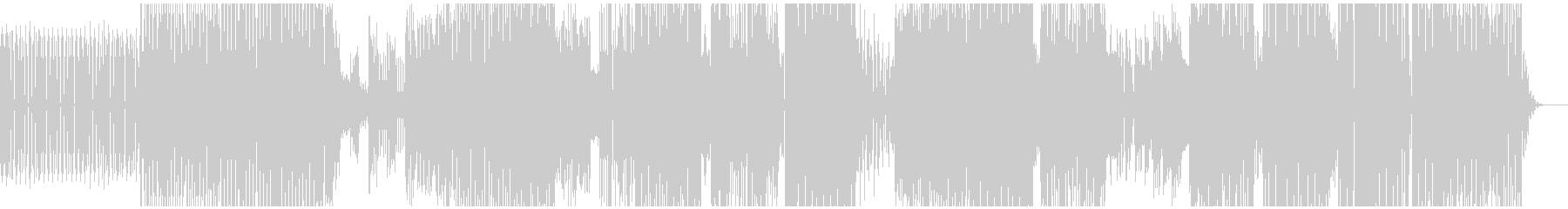 ハウストリップ。の未再生の波形
