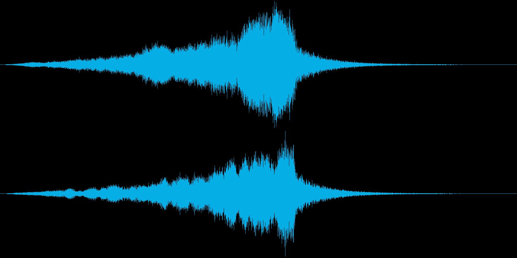 始まりはCINEMATICサウンドでの再生済みの波形