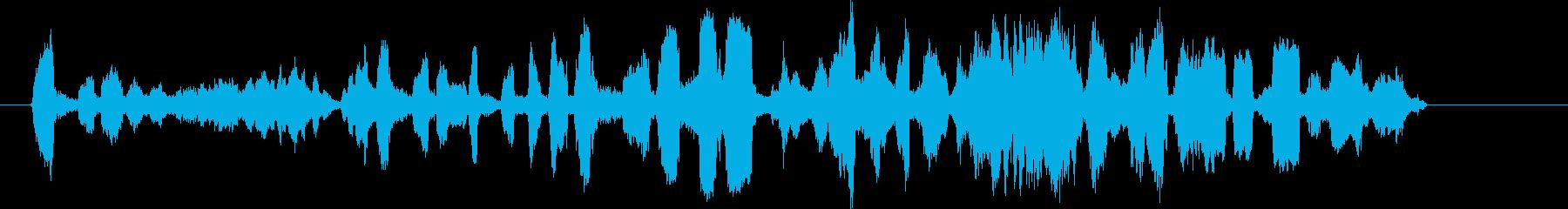 カワウソ、小さな爪の鳴き声、叫び声...の再生済みの波形