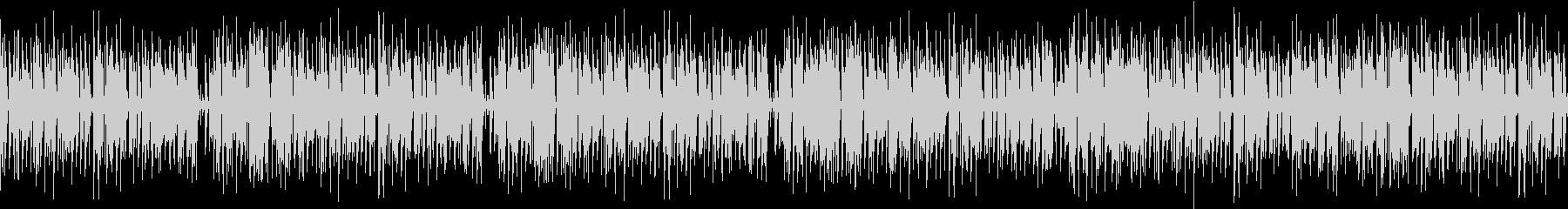 夏の労働イメージのファンクの未再生の波形