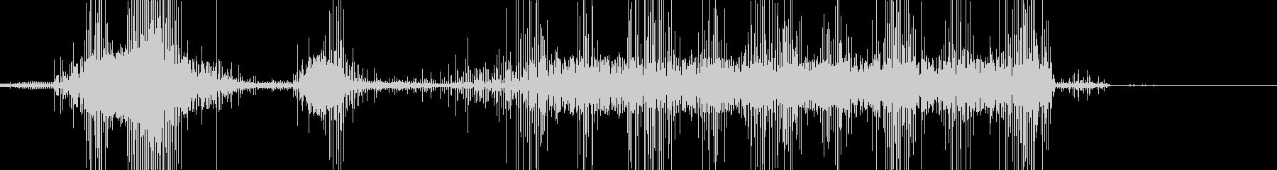 電気ノイズ01の未再生の波形