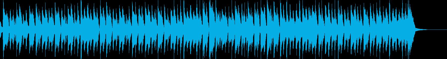 かわいい楽しい生アコギのスウィングジャズの再生済みの波形