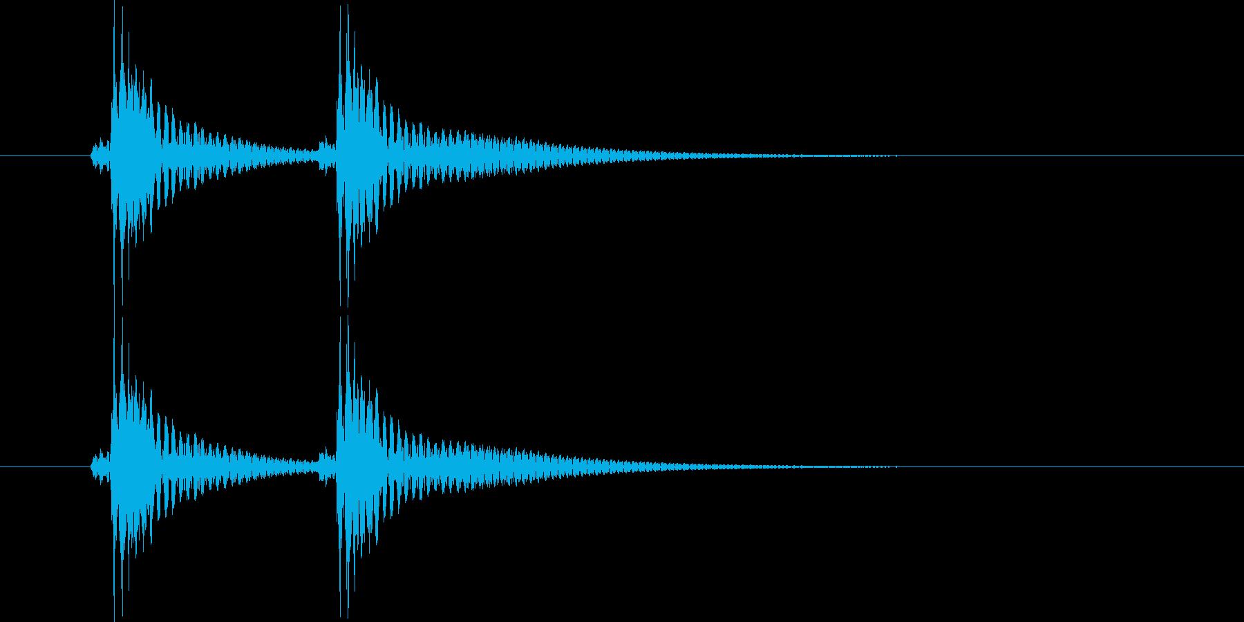 べべん(三味線)の再生済みの波形