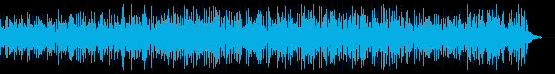 ウクレレ・南国リゾートの午後・のんびりの再生済みの波形