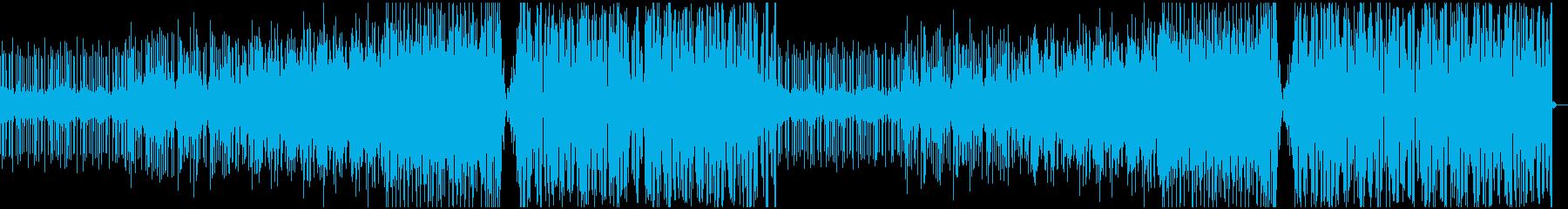 夏を思い出させる切ないメロディーのEDMの再生済みの波形