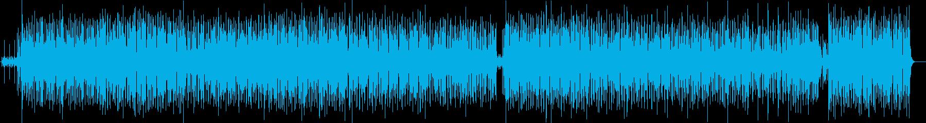 ヒップホップなダンシングミュージックの再生済みの波形