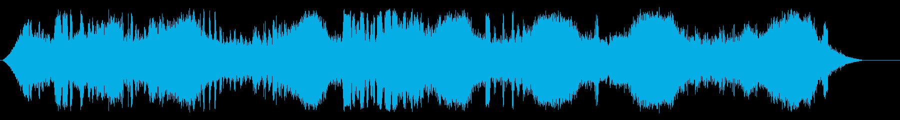 ビッグウェーブビーチの再生済みの波形