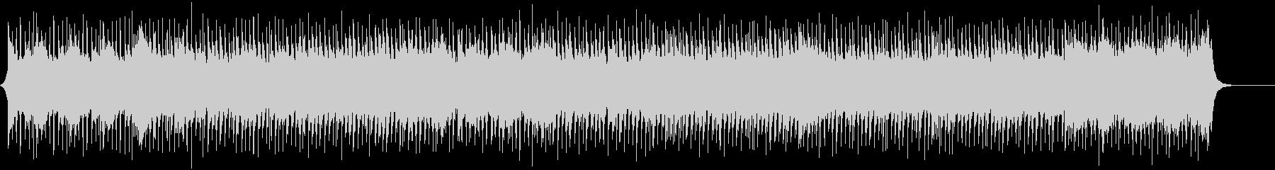 ギターメロのファンファーレBGMの未再生の波形