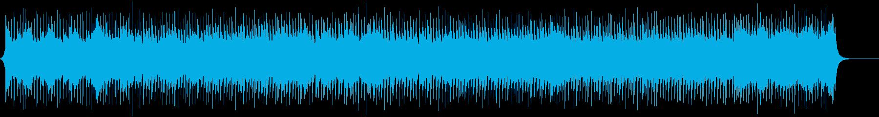ギターメロのファンファーレBGMの再生済みの波形