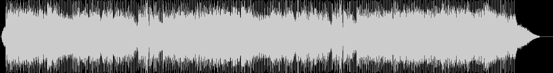 ほんわかムードのフルートソロの未再生の波形
