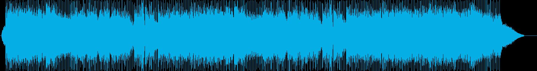 ほんわかムードのフルートソロの再生済みの波形