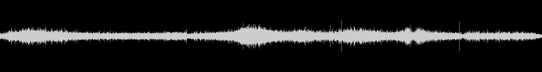 海のループ音ですの未再生の波形