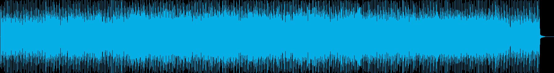 チュートリアル、IT、近未来、デジタルの再生済みの波形