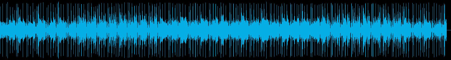 ブラスとオルガンが軽快なソウル/ファンクの再生済みの波形