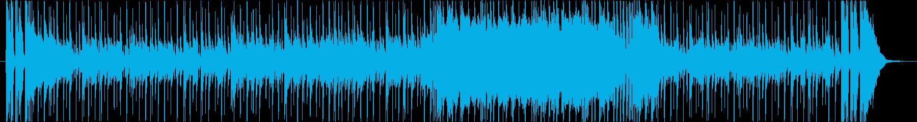 ファンキーな感触は、より活気のある...の再生済みの波形