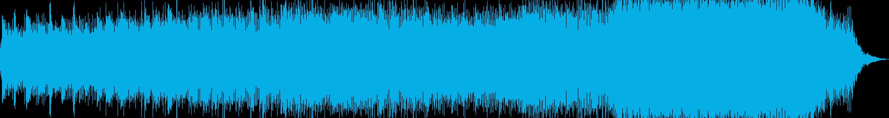 怪しい雰囲気のギターサウンドの再生済みの波形