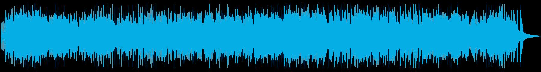 オープニングに元気なレトロポップスの再生済みの波形