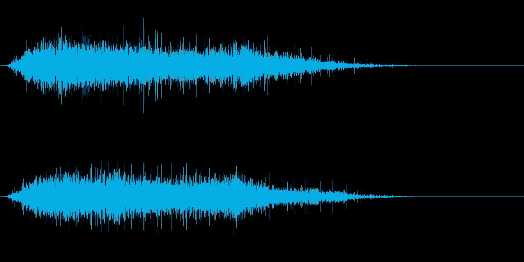 歓声1 (ワオッ!パチパチパチ…)の再生済みの波形