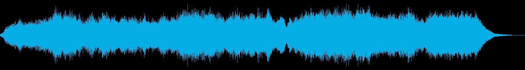 雄大で浮遊感のある電子アンビエントの再生済みの波形