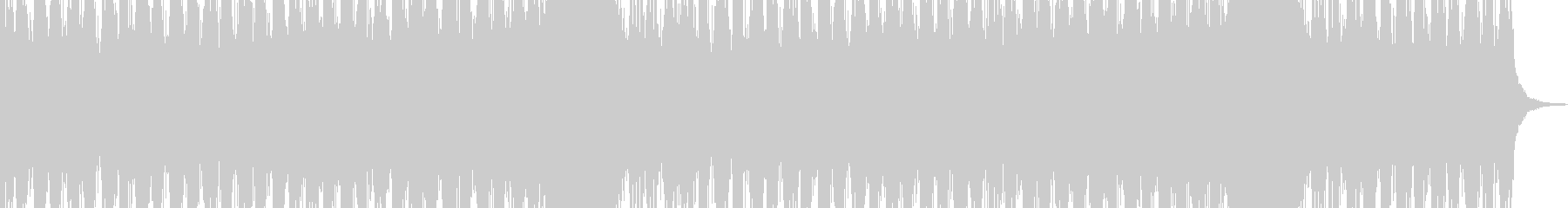 デジタルな質感のオーケストラの未再生の波形