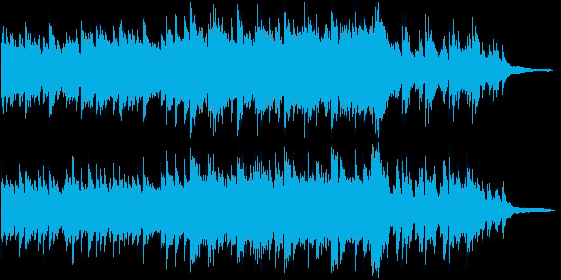 VP系12C、感動的ピアノ&オーケストラの再生済みの波形