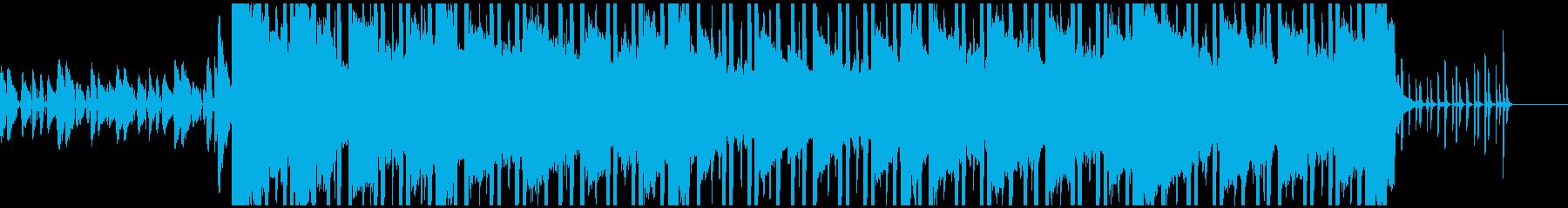 おしゃれ スタイリッシュ ヒップホップの再生済みの波形