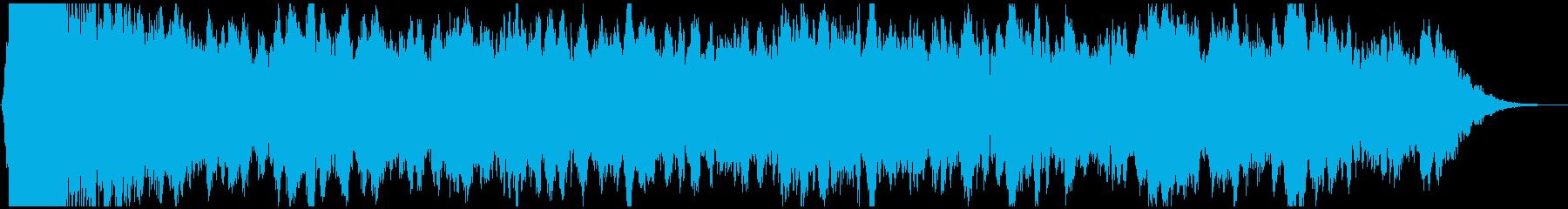 PADS 不安定なウィンドチャイム01の再生済みの波形