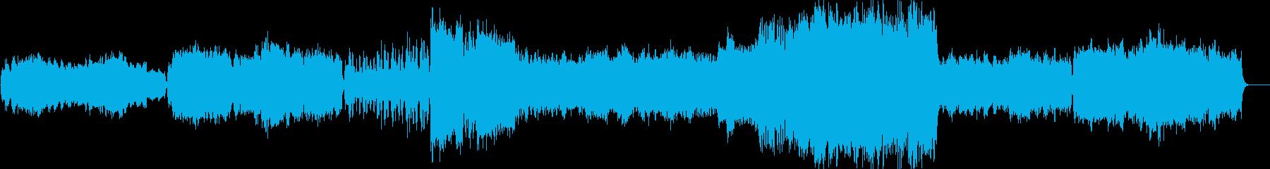 クラシック:穏やか、ゆったり、哀愁の再生済みの波形