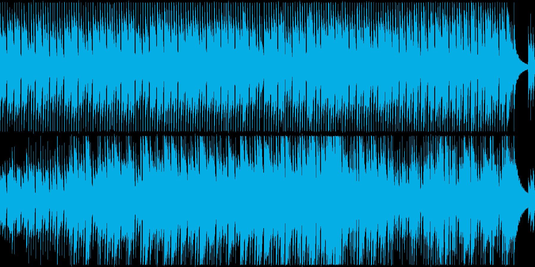 アコギ2本のクールで落ち着いたBGM/pの再生済みの波形