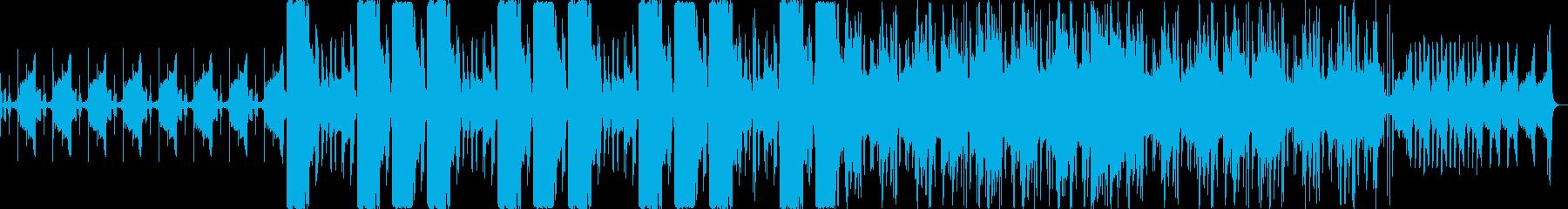 幻想的なエレクトロニカの再生済みの波形
