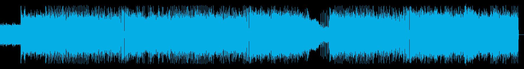 限界に迫る緊迫感なイメージ Remixの再生済みの波形