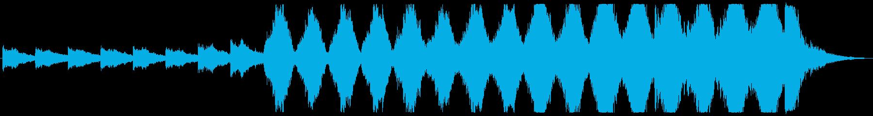 プログレッシブ 交響曲 ゆっくり ...の再生済みの波形
