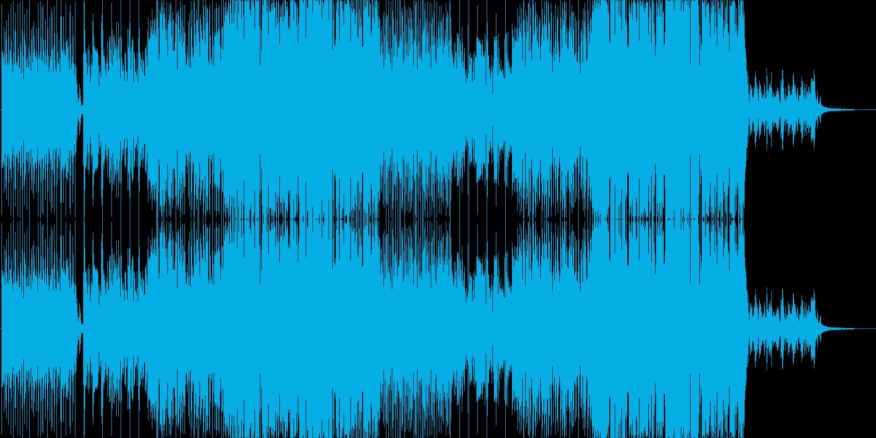 恋のポっプスの再生済みの波形