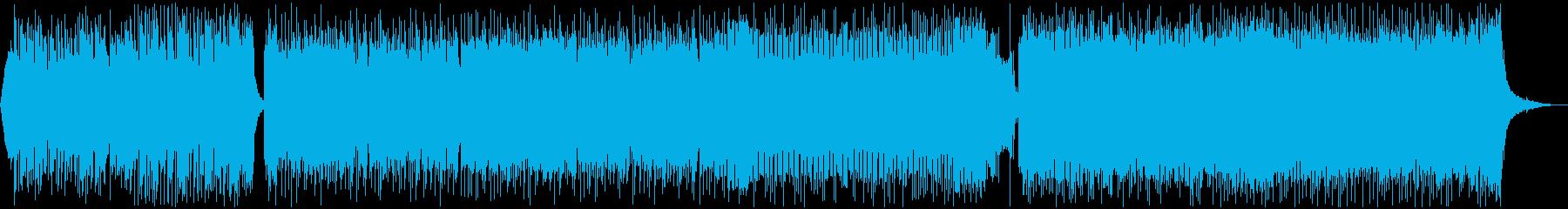 可愛いFuture Bass 声なしの再生済みの波形