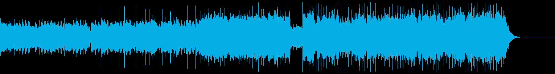 エモーショナルなフューチャーベースの再生済みの波形