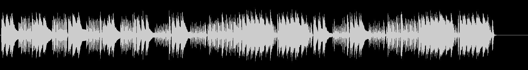 狩りの歌 シューマンピアノソロ生演奏の未再生の波形
