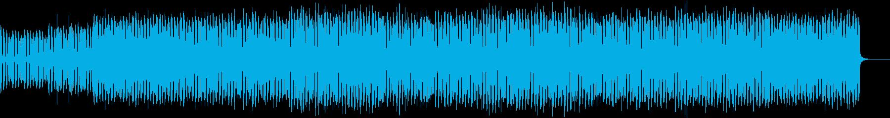 コミカルなメロディのエクササイズダンスの再生済みの波形