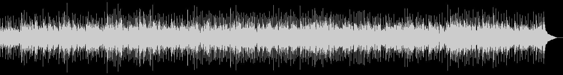 ジャズの要素も取り入れたポップの未再生の波形