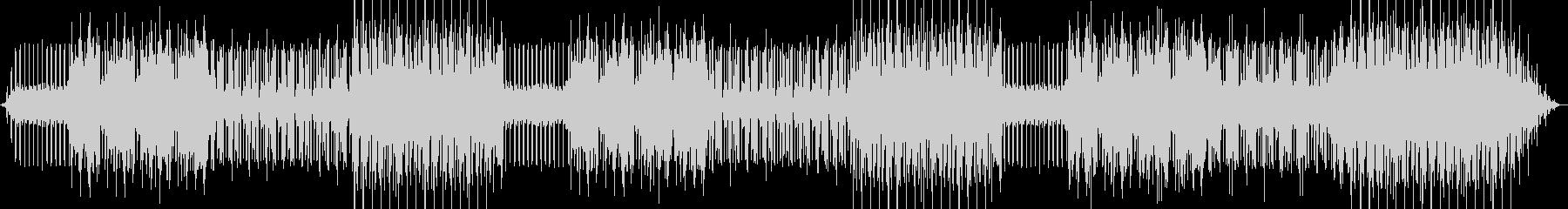 コンビニのサンドイッチを表した曲の未再生の波形