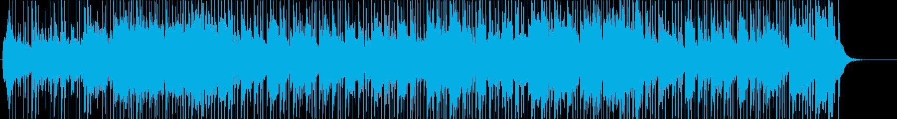 和楽器+ポップスアレンジで前向きな和風曲の再生済みの波形
