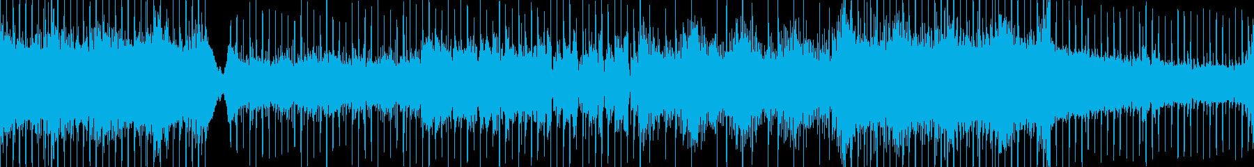 神が君臨するインド風デジロック ループの再生済みの波形