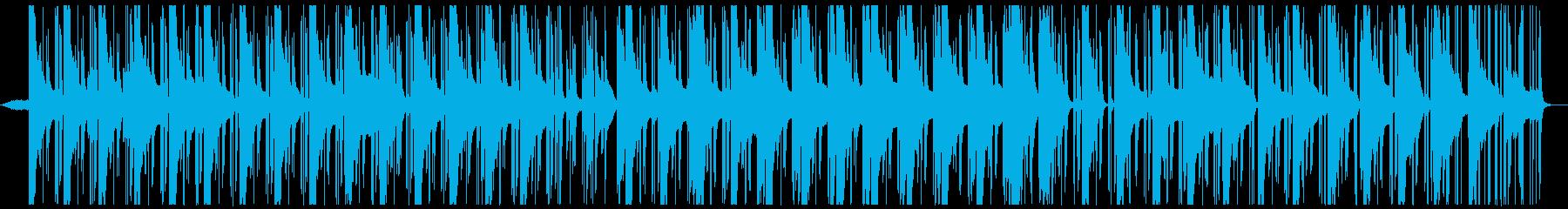 女性コーラスの入ったアンビエントテクノの再生済みの波形