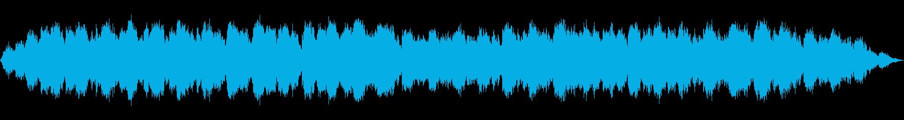 笛の音色の静かな夜風のような音楽の再生済みの波形