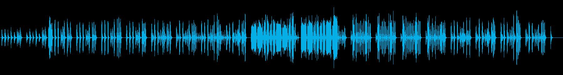 のんびりほのぼのリコーダー ゆるい日常系の再生済みの波形