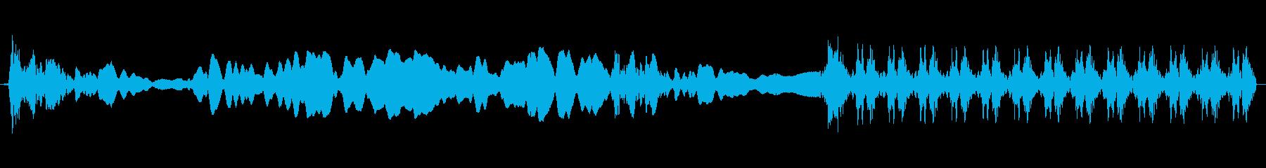 パトカー:インテリア:Wail A...の再生済みの波形