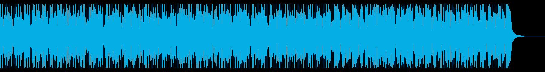 おしゃれで落ち着いたシンプルなジャズの再生済みの波形