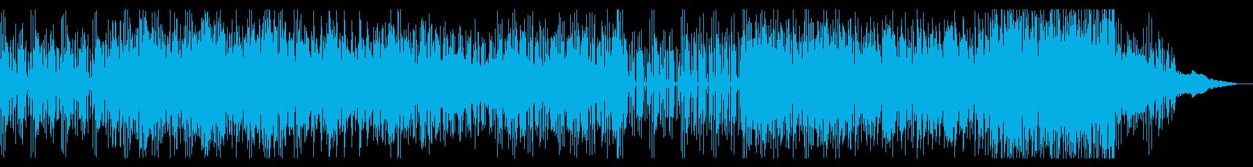 ダークでダンサンブルなテクノの再生済みの波形